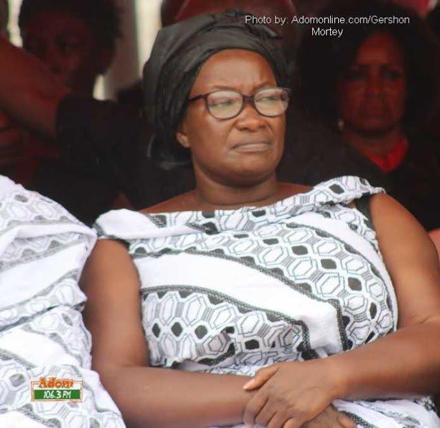 VIDEO: Ebony's mum cheerfully sings 'Maame Hw3'