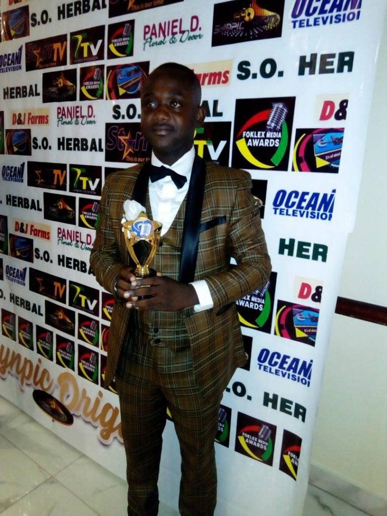KWAME AWUAH NIMFOUR ADJUDGED BEST MALE NEWSCASTER IN ASHANTI REGION.