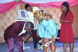 Photos of fake pastors and prophets doing weird and bad things