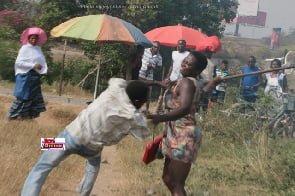 Watermelon seller beats man for setting fire to grass