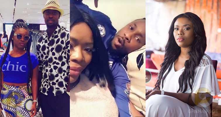 Delay filmed in bed 'flirting' with Ghana Blackstars player, Boakye Yiadom