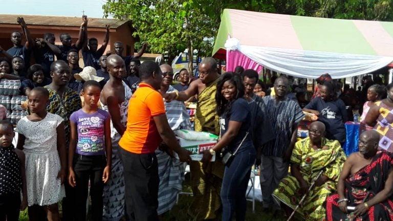 Volta Region : Harriet Afriyie Foundation Supports HIV kids Orphanage at Kpando-Konda0
