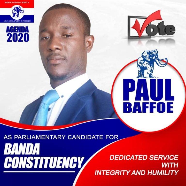 Banda Cons: Paul Baffoe Declares Intention To Contest In NPP Par. Primaries