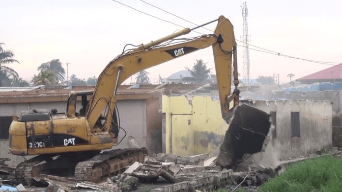 Photos: Over 200 houses demolished at Dansoman