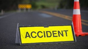 5 die in gory accident involving multiple cars in Nsawam (OKANTA)