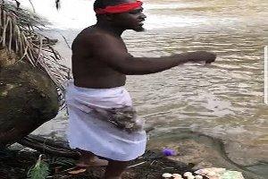 Suspended NPP man invokes curses