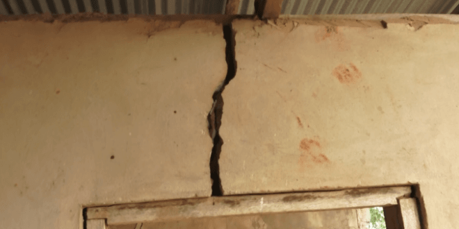 PHOTOS+VIDEO: Fawoman Dida pupils appeal for 'death trap' school blocks to be fixed