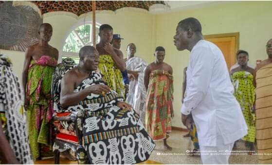 Keep on with your good work, Otumfuo tells Dr Kwame Kyei
