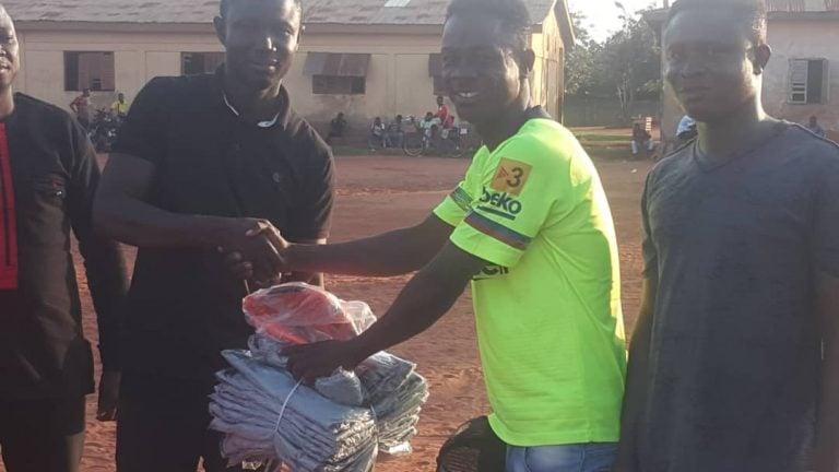 Bono East NPP: Regional Youth Organiser Donates to Muslim Youth