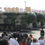 China displays new hypersonic ballistic nuclear missile