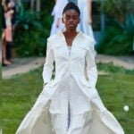 he only black to hit runway in Milan for designer who rejected her