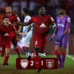 Asamoah Gyan off the mark for North East United in ISL