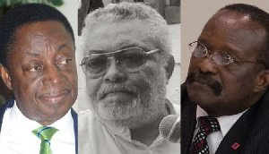 Mahama's Running Mate: Rawlings kicks against Kwesi Ahwoi as Duffour begs to be considered