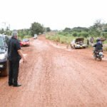 Rawlings unhappy with poor state of Volta roads