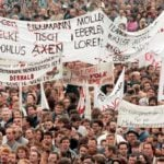 The demonstration that took down East Germany