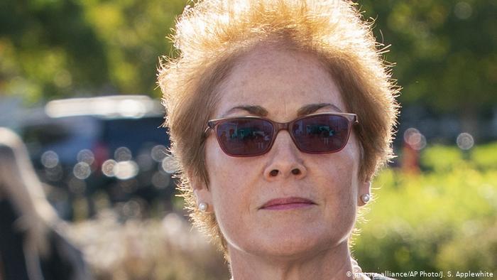 Who is former US Ambassador to Ukraine Marie Yovanovitch?