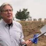 Don Moen cuts sod for construction of $90k school project in Ghana