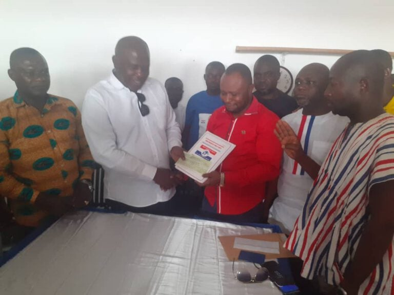 Manhyia North Cons: Hon Collins Owusu Amankwah Has Submitted His Nominations form Today