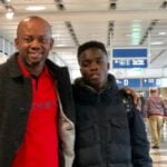 Kotoko's wonder-kid Mathew Cudjoe lands in Germany for Bayern Munich trials