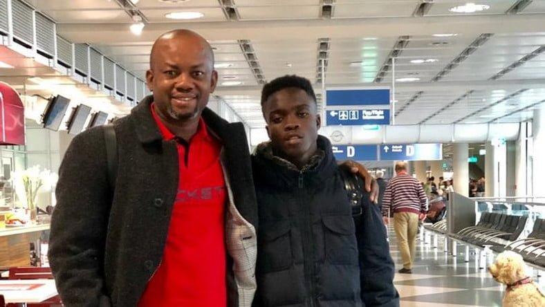 Kotoko's wonder-kid Mathew Cudjoe lands in Germany for Bayern Munich trials