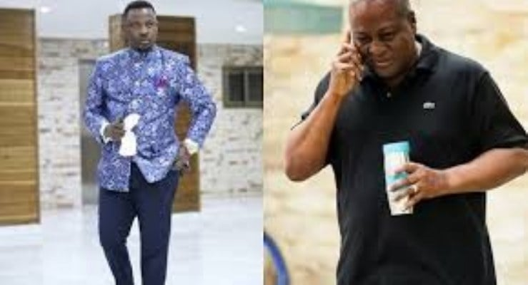 Don't announce the name of your vice now – Prophet Nigel Gaisie to John Mahama