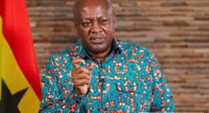 Former President John Mahama Donates to Communities Affected By Tidal Waves In Ketu South