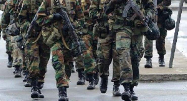 Military officer shoots motor rider at Doboro