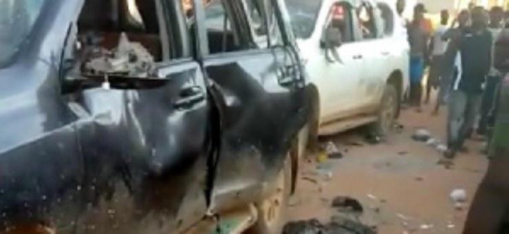 Galamsey: 1 dead, 14 arrested, 2 Toyota Landcruisers vandalized in Ashanti Region