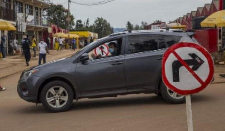 Rwanda testing for coronavirus on the streets