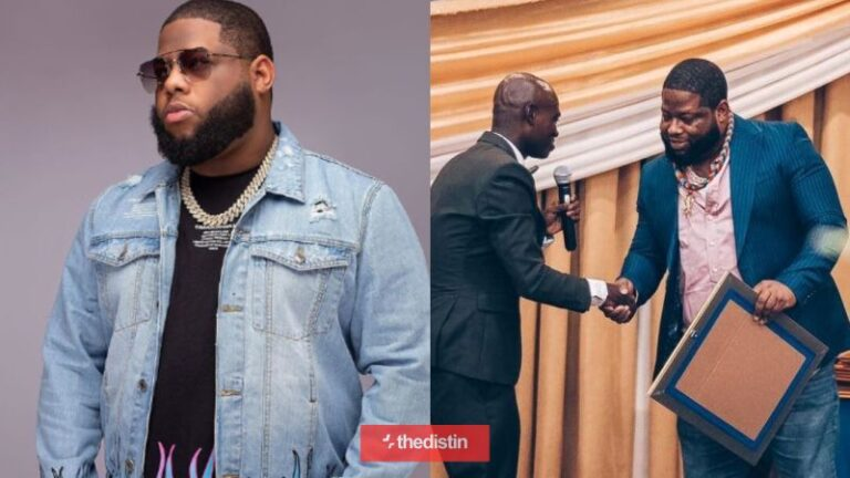 D-Black Jabs Critics As He The Defends 'Fake UN Award'   See His Reaction