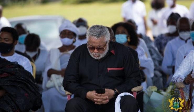 Breaking News: Jerry John Rawlings is dead
