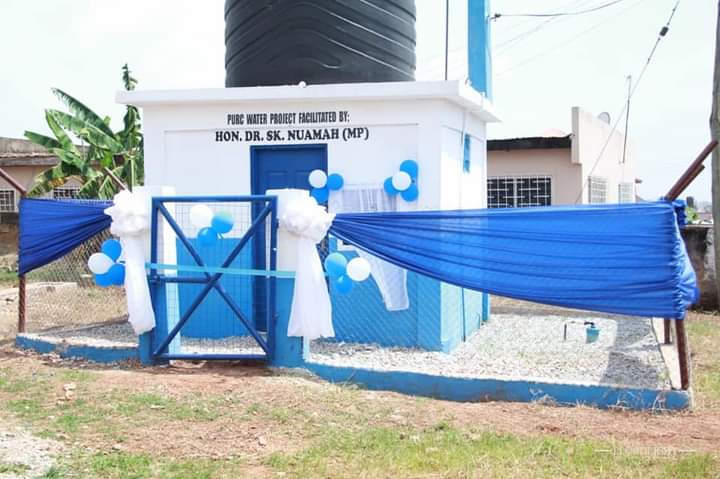 Kwadaso MP extends water to constituents, schools
