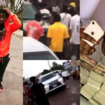 WATCH VIDEO: Shatta Wale attacked in Krofrom for duping Junior US $10,000 & not attending his funeral
