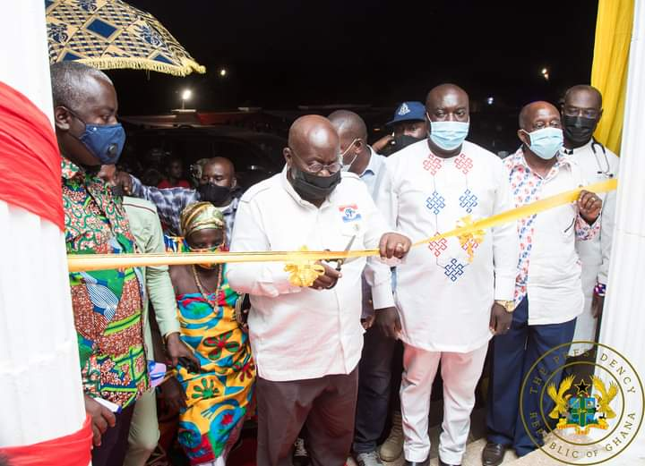 Prez. Akufo-Addo Commissions a 100-Bed Specialised Prof. Quarm Hospital in Manso Nsiana