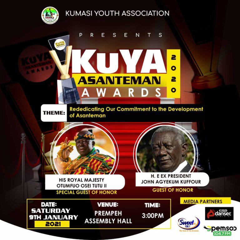 KuYA Host Asanteman Awards January 9th