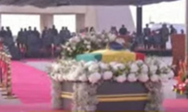 LIVESTREAMING: Ghanaians bid final farewell to Rawlin