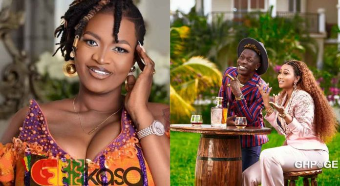 When your godson becomes your threesome partner- Hajia4Real's funny reaction to Ayisha Modi's allegation
