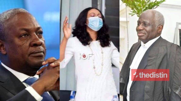Bad News For John Mahama, Tsatsu Tsikata As Supreme Court Rules That Jean Mensa Cannot Be Forced To Testify