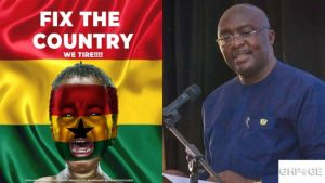 'We're fixing it' -Dr Bawumia finally speaks on the #FixTheCountry movement