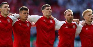 Christian Eriksen: Denmark midfielder 'awake' after collapsing on pitch