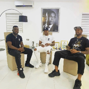 Ayew brothers re-unite in Ghana after European season