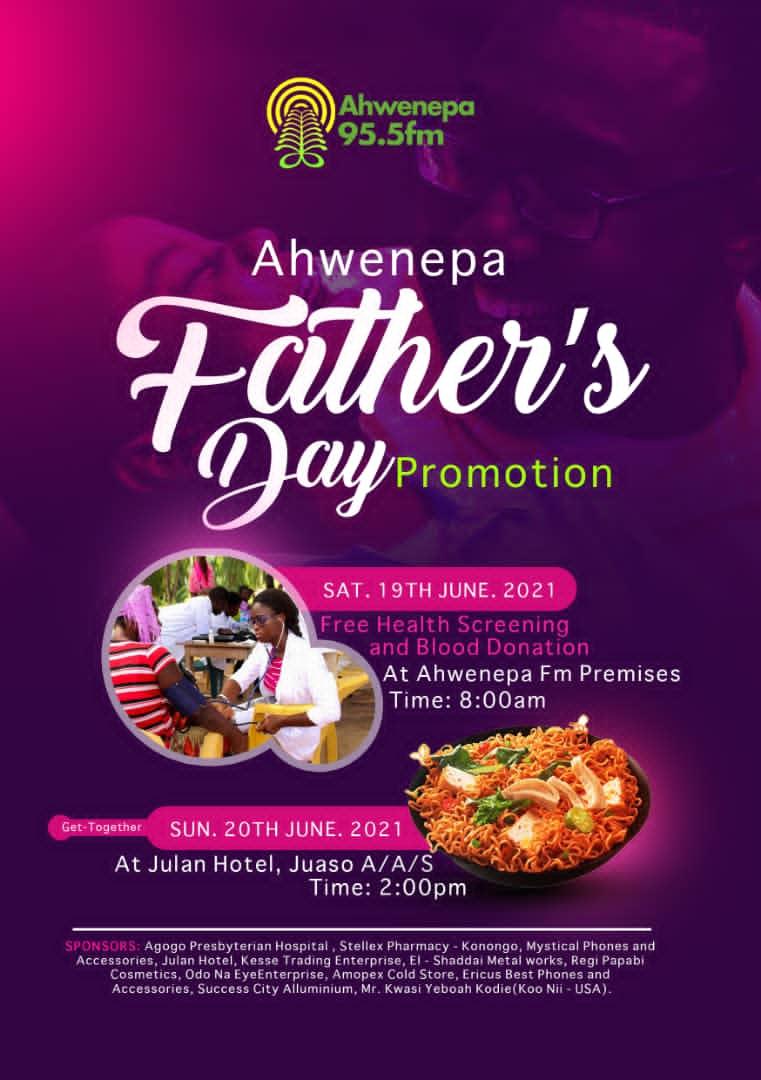 Ahwenepa 95.5Fm Honours Paternity