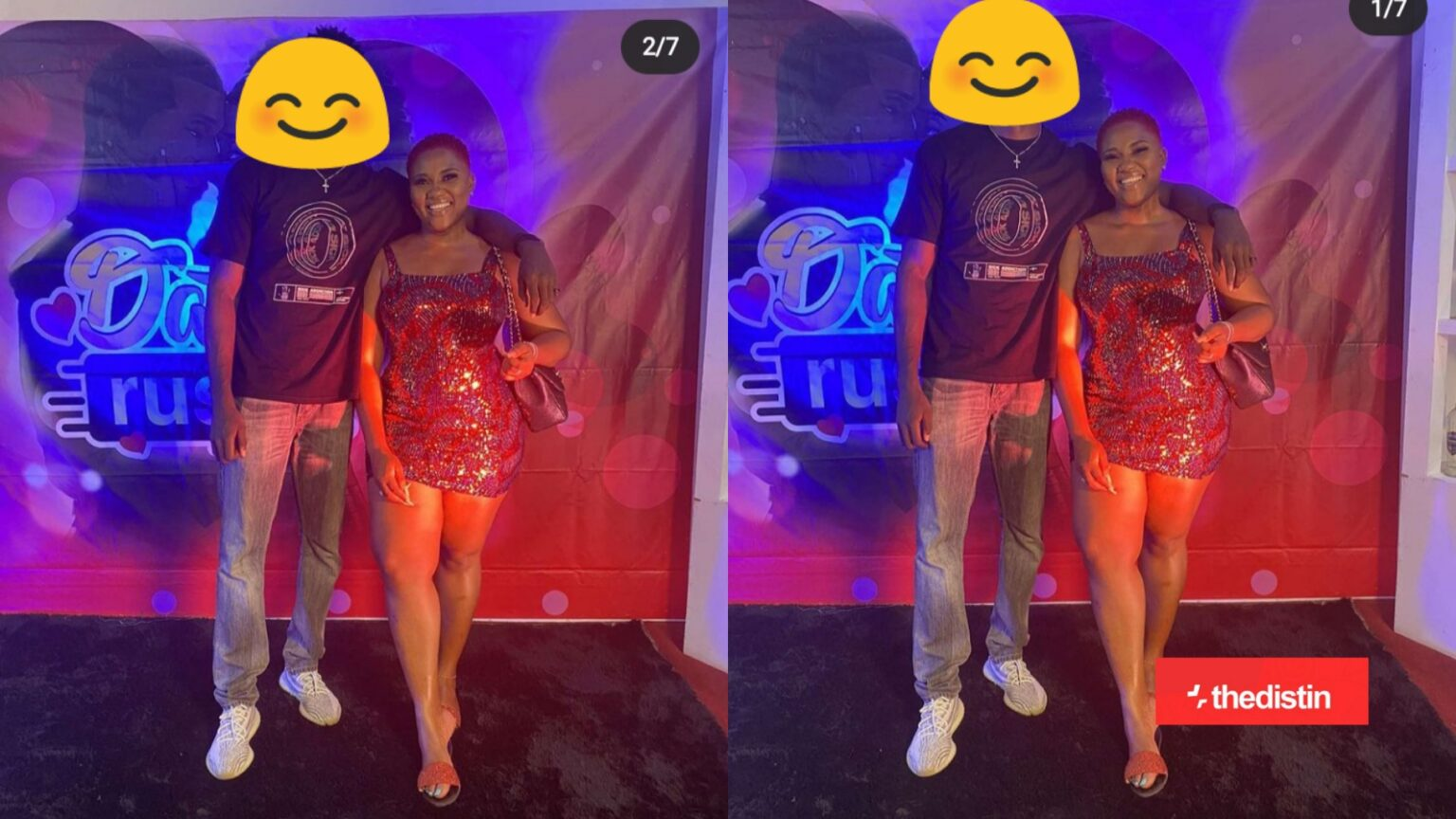 Photo: Former TV3 Show Host Abena Korkor Breaks All Protocol, Shows Off Her Date Of TV3 Date Rush