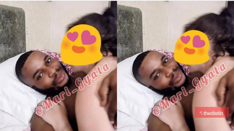 Photo: Twene Jonas Alleged To Slide Into Ponani Of A White Old Lady