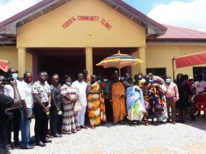 Couple Donate Medical Equipment To Krofa Community Clinic